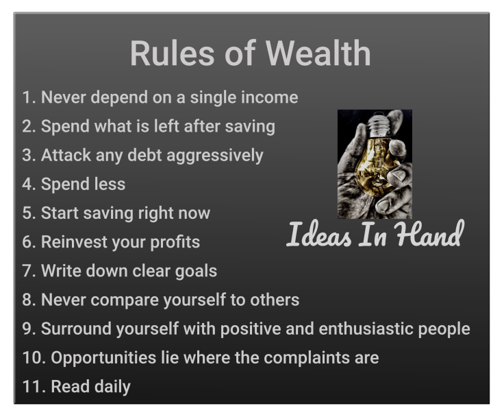Rules of Wealth